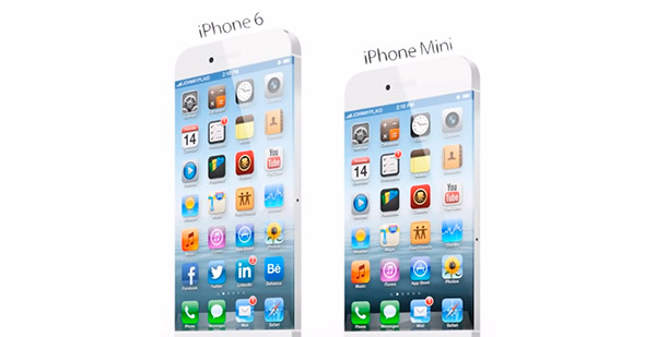 iPhone 6 e iPhone Mini