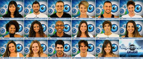 Participantes BBB11