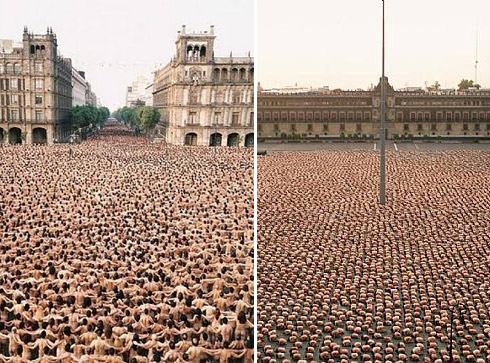 Fotógrafo Spencer Tunick