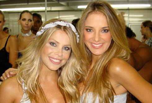 Karina Bacchi e Ticiane Pinheiro