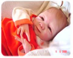 boneco com formato de bebê de verdade
