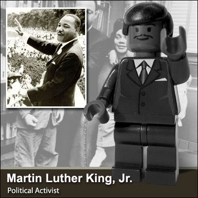 Lego Celebridades: Martin Luther King Jr.