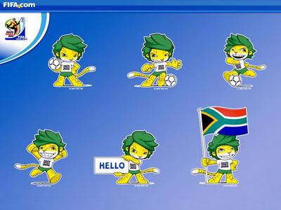 Mascote da Copa do Mundo de 2010 de Futebol