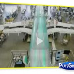 vídeo, avião, boeing, airbus, montagem