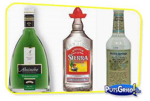 Fotos: Bebidas Alcoólicas Mais Fortes do Mundo