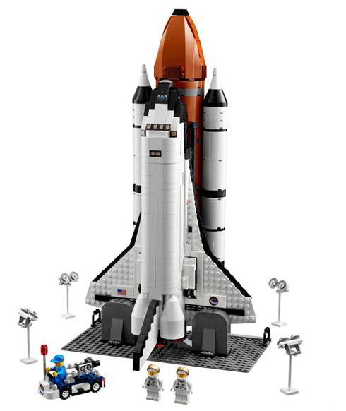Fotos: Ônibus Espacial de Lego