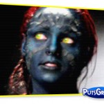 Mulher Melancia Faz Fotos Vestida de X-Men