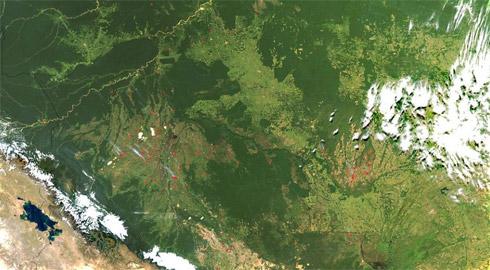 Fotos da Nasa de Desastres Naturais