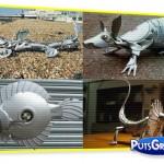 Fotos: Esculturas De Calotas de Carros