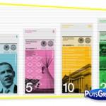 Design: Dólar Colorido com Obama