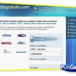 Torpedos SMS Grátis para Celular Oi, Claro, Nextel e CTBC pela Internet