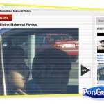 Flagra: Justin Bieber e o Beijo em Jasmine Villegas