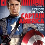 Filme Capitão América: Foto de Chris Evans no Uniforme do Herói