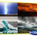 Calendário com Fotos de Fenômenos Naturais na Austrália