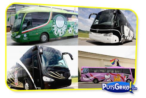 Times de Futebol e Seus Ônibus