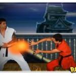 A dança do Street Fighter em axé