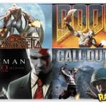 Kratos, o Deus da Guerra, em montagens de outros jogos