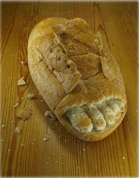 Arte e escultura com alimentos