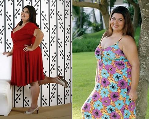 Fabiana Karla antes e depois
