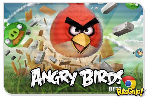 Jogo Angry Birds Beta para Google Chrome