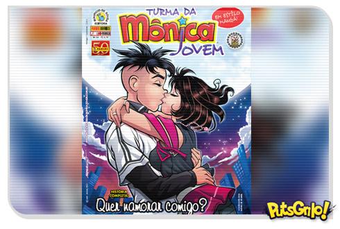 Turma da Mônica Jovem: Namoro de Cebolinha e Mônica