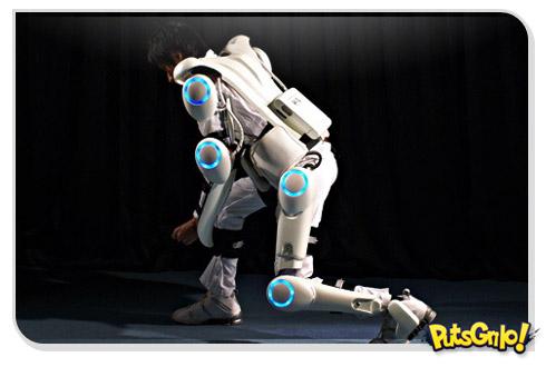 Homem de Ferro da vida real: HAL-5, a armadura robótica