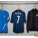 Inter de Milão mostra camisa da temporada 2011-2012