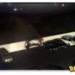 Acidente no estacionamento com um Porsche