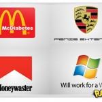 Como seriam as logomarcas se fossem sinceras
