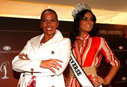 adriane galisteu e a miss universo 2010 Ximena Navarrete