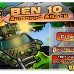 Jogo online: Ben 10 Armored Attack