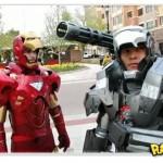 O melhor cosplay do Homem de Ferro ever!