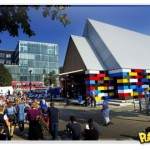 Igreja construída de LEGO