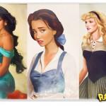 Personagens Disney em versões hiper realistas