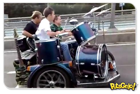 A banda mais rápida da Rússia