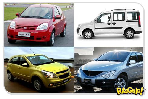 Os Carros mais horríveis do Brasil