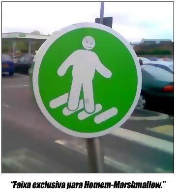 Homem Marshmallow ou Michelin?