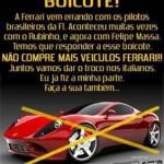 Boicote Ferrari